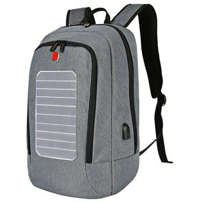 SWEETTOURIST Solar Charging USB Anti-theft Backpack