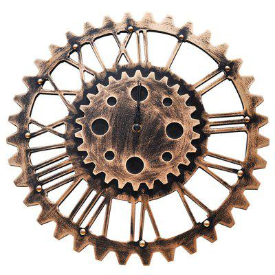 Creative Industrial-style Gear Wall Clock for Decoration