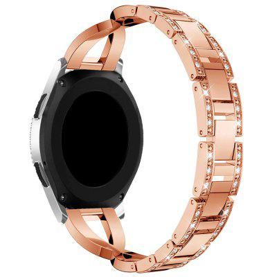 X Shaped Stainless Steel Wrist Strap for 46mm Samsung Galaxy SM - R810 Watch Series