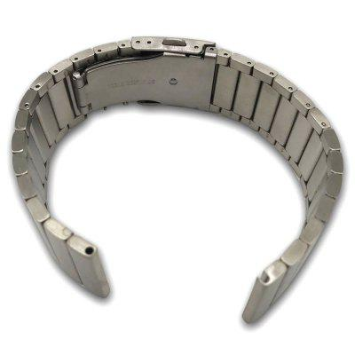 23mm Bamboo Links Stainless Steel Watch Strap for Fitbit Blaze