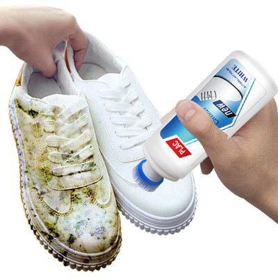 White Shoes Cleaner Whiten Refreshed Polish Cleaning Tool for Casual Leather Shoe Sneakers