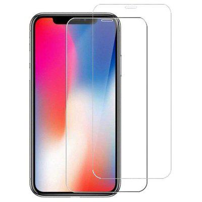 Naxtop gehard glas Screen Protector Film voor iPhone XS 2st