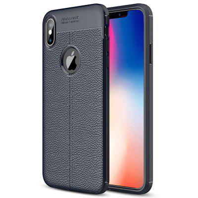 ASLING Litchi Grain Phone Case for iPhone XS MAX