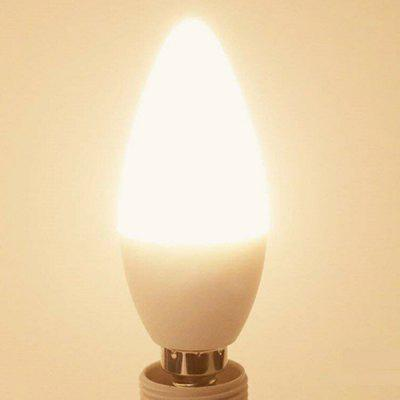 Energy-efficient Remote LED RGB Candle Lamp