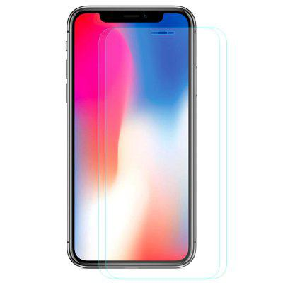 Hat - Prince 0.26mm 9H 2.5D Arc Tempered Glass Screen Protector for 5.8 inch iPhone XS / iPhone X 2pcs