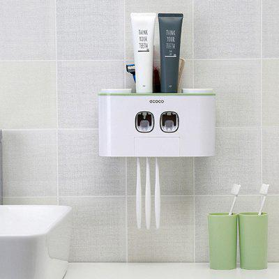 Free Punching Toothpaste Toothbrush Holder