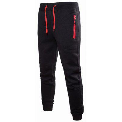 Male Stylish Leisure Drawstring Sports Pants