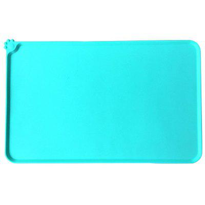 Silicone Dog Food Pad Mat Feeding Tray voor Pet