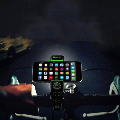 Professional Bicycle Mobile Phone Holder with LED Light 1PC