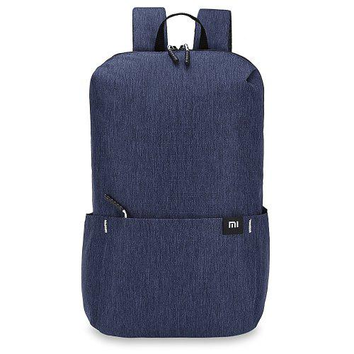 Xiaomi Trendy Solid Color Lightweight Water-resistant Backpack -  13.30  Free Shipping f09690c44be