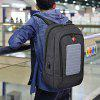 SWEETTOURIST Solar Charging USB Anti-theft Backpack - DARK GRAY