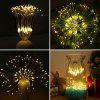 Utorch Starburst Lampe de Feu d'Artifice 198-LED - BLANC CHAUD