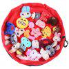 150cm Portable Kids Toys Storage Bag - HOT PINK