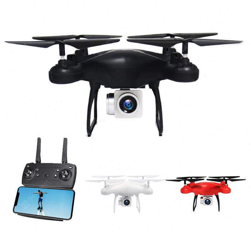 2.4G Mini RC Quadcopter Drone with Camera - BLACK