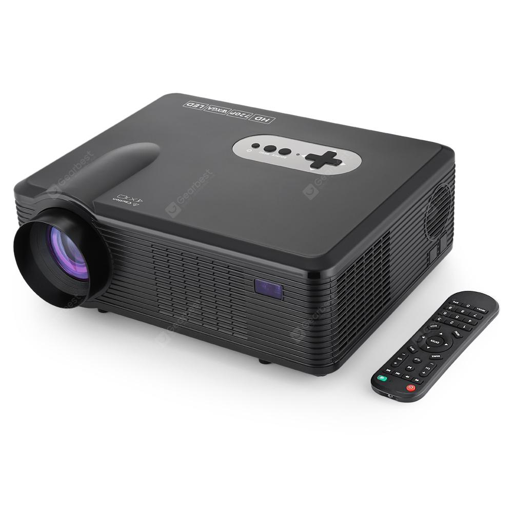 Excelvan CL720 LED Projector - BLACK EU PLUG