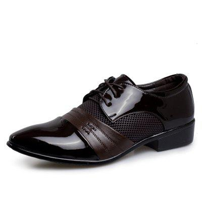 Men Comfortable Business Leather Shoes