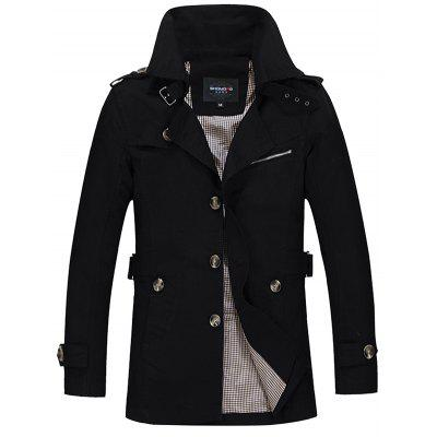 Fashion Business Casual Trench for Men