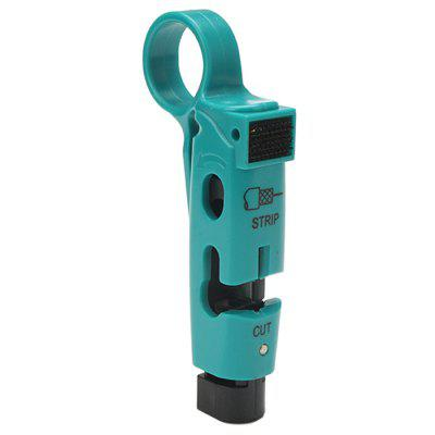 Tool-steel Coaxial Cable Crimper