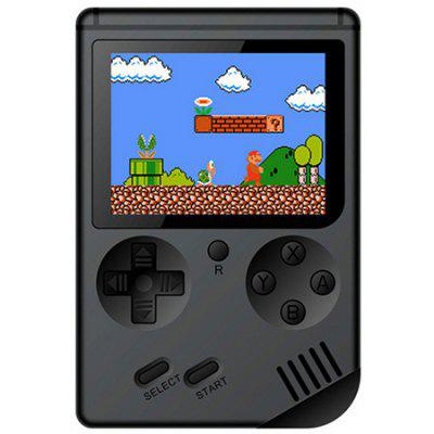 Gearbest Children Mini Nostalgic Handheld Game Console - BLACK