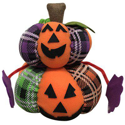 Criativo Halloween Pumpkin Plush Doll Toy Desktop Ornaments