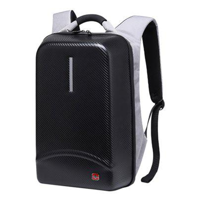 SWTSSCFAP Waterproof Anti-theft Hard Shell Backpack for Man
