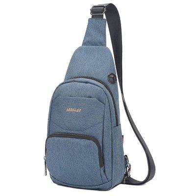 Songkun SX003 Oxford Fabric Men's Chest Bag