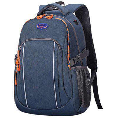 Songkun Stylish Denim Outdoor Leisure Backpack