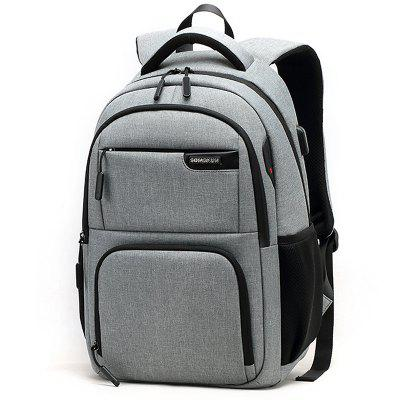 Songkun Business Oxford Cloth Backpack with USB Port