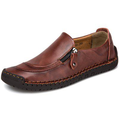 Stylish Breathable Flexible Casual Leather Shoes for Men