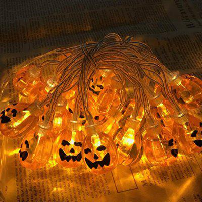 LED Pumpkin Shape Light String for Halloween