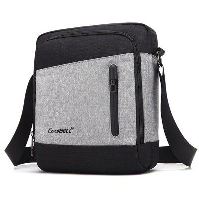 COOLBELL Men Stylish Multifunctional Durable Chest Bag