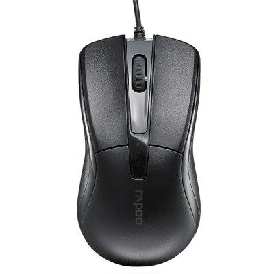 Rapoo N1162 Symmetrical Mute USB Wired Mouse 1000DPI