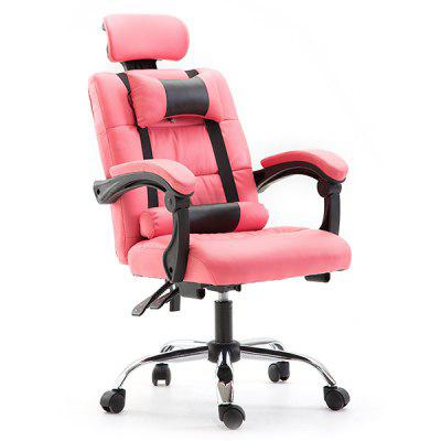 Office Gaming Massage Chair Silla ergonómica para computadora con reposacabezas Pillow