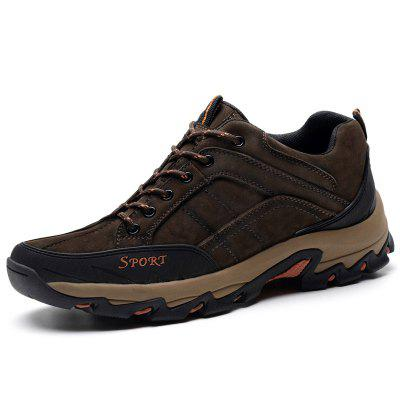 Suede Plus Size Outdoor Hiking Shoes for Man