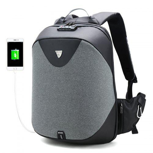 ARCTIC HUNTER Anti-theft Smart USB Recharge Backpack for Men