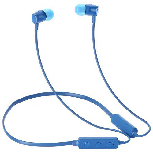 Gearbest MEIZU EP52 Lite Magnetic Bluetooth Sports Headphone with Mic - Blue IPX5 Waterproof / Biological Fiber Diaphragm / 200h Duration Time / Rechargeable with Micro USB Interface