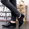 Men Comfortable Business Leather Shoes - JET BLACK