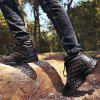 Men Leisure Outdoor Warm Anti-slip Hiking Shoes - COFFEE