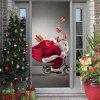 3D Santa Claus Effect Wallpaper for Living Room Bedroom 2pcs - MULTI-A