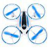 Iluminowany Mini Drone Drone Altitude Hold - DEEP SKY BLUE