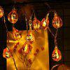 LED Pumpkin Shape Light String for Halloween - HALLOWEEN ORANGE