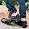Men's Outdoor Comfortable Mountaineering Sneaker - BLACK