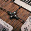 8Bitdo Creative Cross LED D-pad USB Hub - FEKETE