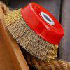 Wire Cup Brush Crimped with Nut for Angle Grinder 1pc - RED