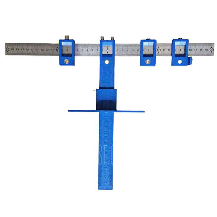 Hardware Punch Locator Woodworking Drill Guide Tool