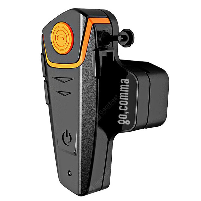 Gocomma BT   S2 1000m Bluetooth Headset Motorfiets Intercom Auto Antwoord FM-radio Interphone met 300 uren Lang stand-by
