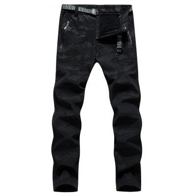 Stylish Winter Warm Camouflage Printed Pants for Men