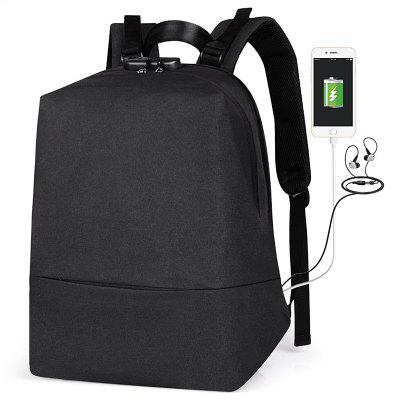 Sports Business Anti-theft USB Charging Port Backpack
