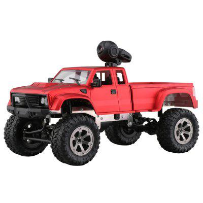 FY002A 1/16 2.4G 4WD RC Car 720P HD WiFi FPV Off-road Military Truck