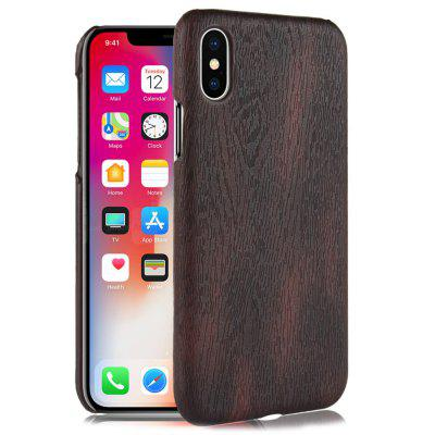 Custodia in pelle PU Leather Leather + PC per iPhone XS